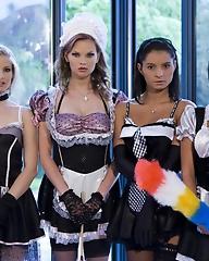 Four maids